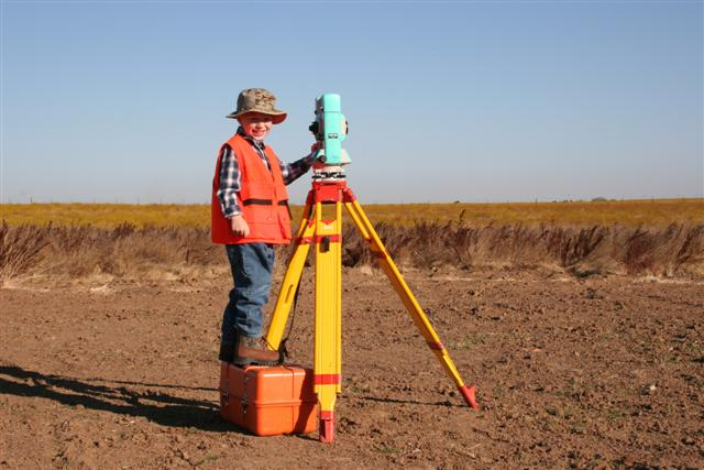 Future Surveyor in Training